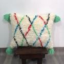 (C003) Stunning Moroccan Cushion Handwoven kilim pillow Beanbag Yoga moroccan cushion, berber pillow, kilim pillow