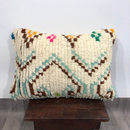 (C001) Stunning Moroccan Cushion Handwoven kilim pillow Beanbag Yoga moroccan cushion, berber pillow, kilim pillow