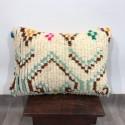 (C007) Stunning Moroccan Cushion Handwoven kilim pillow Beanbag Yoga moroccan cushion, berber pillow, kilim pillow