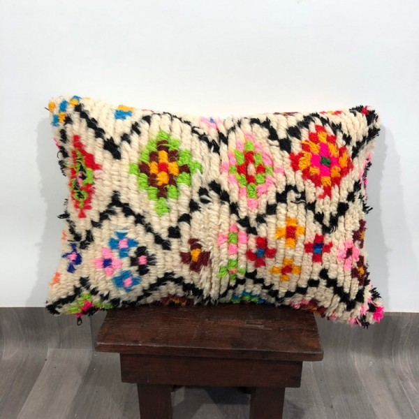 (C010) Stunning Moroccan Cushion Handwoven kilim pillow Beanbag Yoga moroccan cushion, berber pillow, kilim pillow
