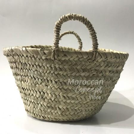 Moroccan natural Basket