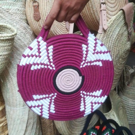 Moroccan colorful berber Bag